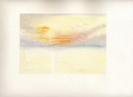Yellow Sunset by nnicc