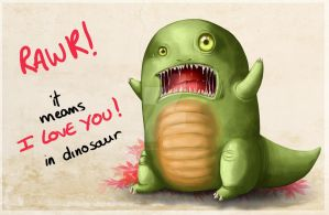 RAWR it means i love you by NikiVandermosten