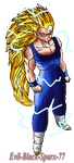 Redit SSJ 3 by Evil-Black-Sparx-77