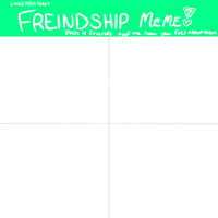 Friendship Meme Blank by LittleMissToto