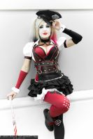 Arkham Knight Harley Quinn by MaiseDesigns