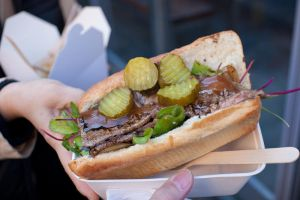 Steak sandwich by patchow