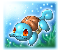 Squirtle by Rukaria
