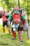 Warhammer 40K ORCS on Starcon 2012 by andrewhitc