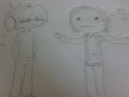 CRY AND PEWDIE by Demonic-Twins