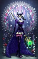Steampunk Maleficent Colors by nahp75