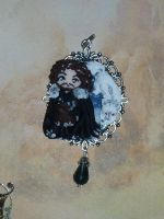 Jon Snow and Ghost in polymer clay by Teodora85