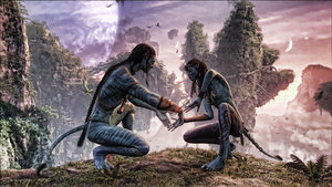 Avatar Neytiri and Jake Edit by Prowlerfromaf