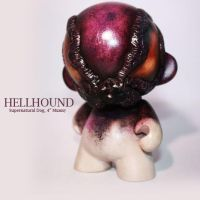 Hellhound, a supernatural dog by PatrickL