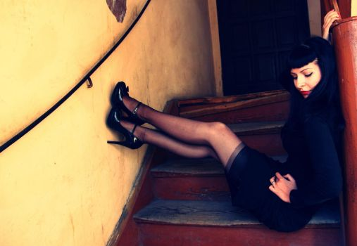Stairway by CarrieGrr