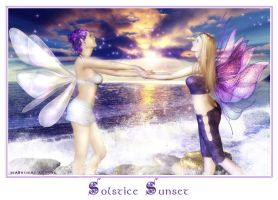 Solstice Sunset by Shaelynn