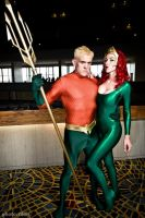 Aquaman and Mera 3 by megmurrderher