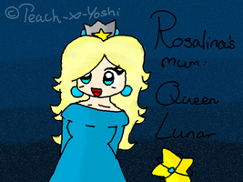 rosalina's mother... by Peach-X-Yoshi