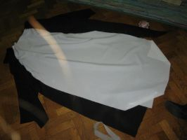 Teito's black tunic in process by Die-Rose