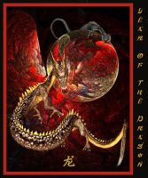 Year Of The Dragon II by PatriciaRodelaArtist