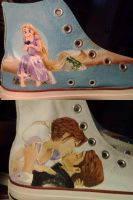 WIP Tangled Shoes by Flutiful