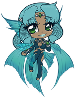 Narcissa chibi by dare2dreammedia by aachi-chan