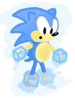 Sonic's so cool O_O by suitcase