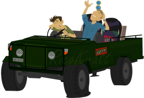 Kratt brothers jeep by RicoRob