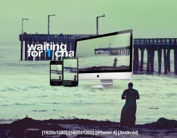Waiting For 1 Chance Wallpaper Pack by vNyL