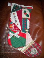 Crazy Quilt Stocking by animeninjaNIPPON