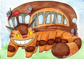 My Neighbour Totoro - Catbus by AT-Studio