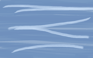 I made a water texture in Paint c: by DEMONIC-RICOCHET