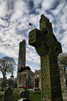 Monasterboice High Cross by ottomatt
