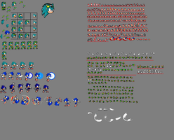 New Nico sprite sheet w.i.p by xXDaBoss99Xx