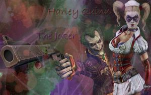 Harley Quinn and Joker by Lex--Luthor