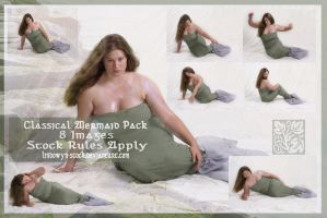 Classical Mermaid Pack by lindowyn-stock