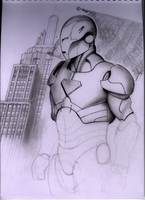 Iron Man by ahyankee