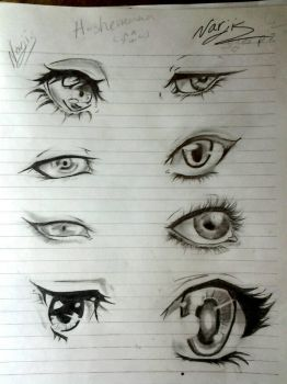 eyes references  by Nersseanchan