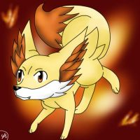 Fennekin by Shinkou-san
