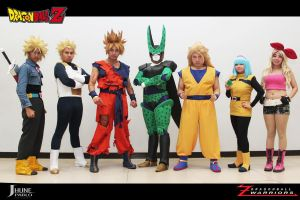 Dragonball Z cosplay by jeffbedash325