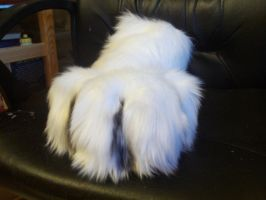 Eodain Footpaw with airbrushed details by Streifenschnauzer