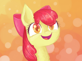 Applebloom by Reporter-Derpy