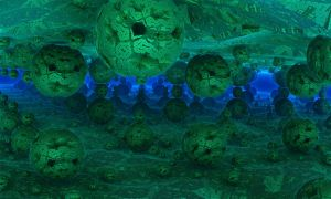 Carvings in an Underwater Cave by crotafang