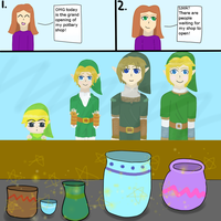 Legend of Zelda: Pottery Shop Fail by NinjaFalcon90
