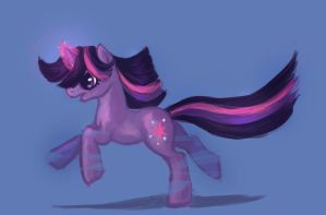 Twilight Sparkle by Tracyelicious