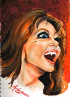 Ingrid Pitt Carmilla by NickMockoviak