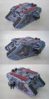 Space Wolves Land Raider II by Arastoru