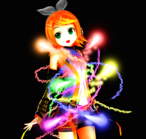 MMD - dem rainbows by YellowDesuCake