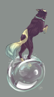 That's my air bubble and I'm lost if it pops by earthytones