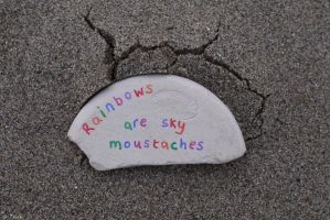 Sky Moustache by Rhiallom