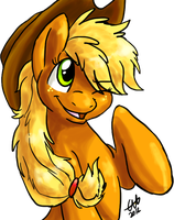 Livestreamed Applejack by BritishStarr
