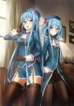 Takao and Atago (Kancolle costume v.) by Coffee-Straw-LuZi