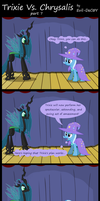 Trixie Vs. Chrysalis (part 7) by Evil-DeC0Y