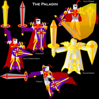 The Paladin by ISawEverything