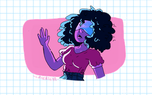 Garnet the sunshine by CipherTeya